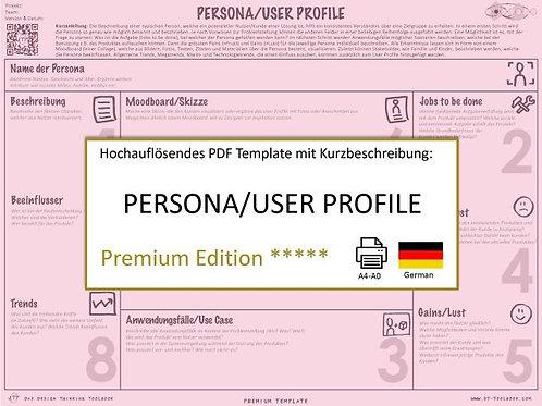 Persona/User Profile (German)