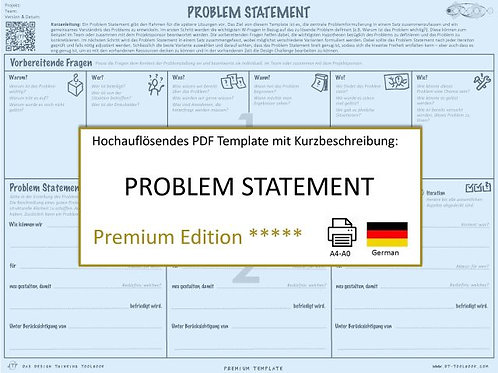 Problem Statement (German)
