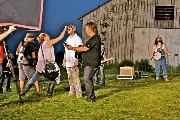 Joe Diffie Music Video Shoot