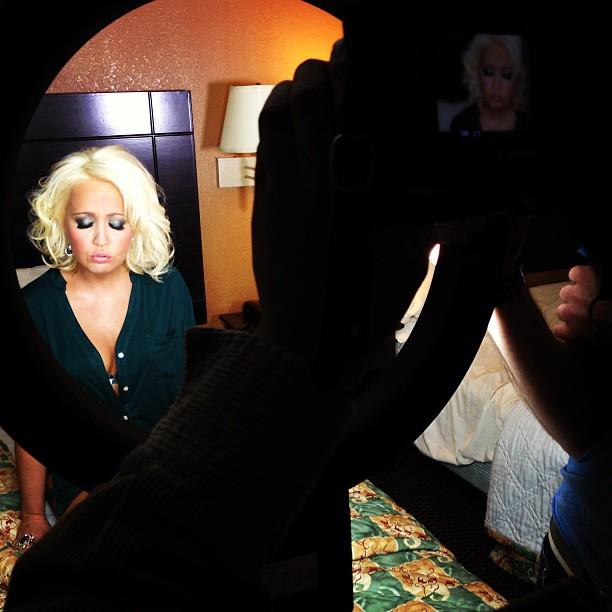 Meghan Linsey and Cody Belew Music Video Shoot!