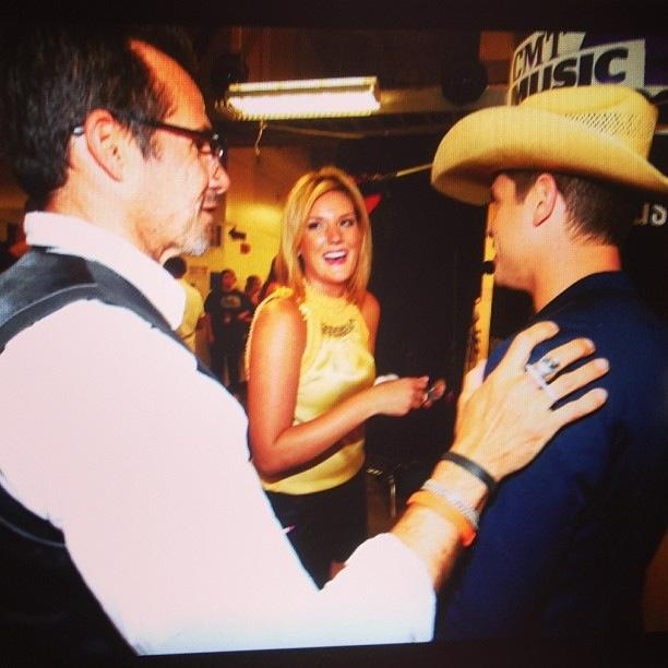 Backstage Touch Ups Dustin Lynch