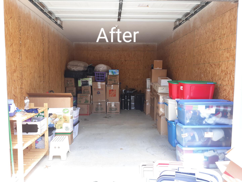 Storage Unit Declutter
