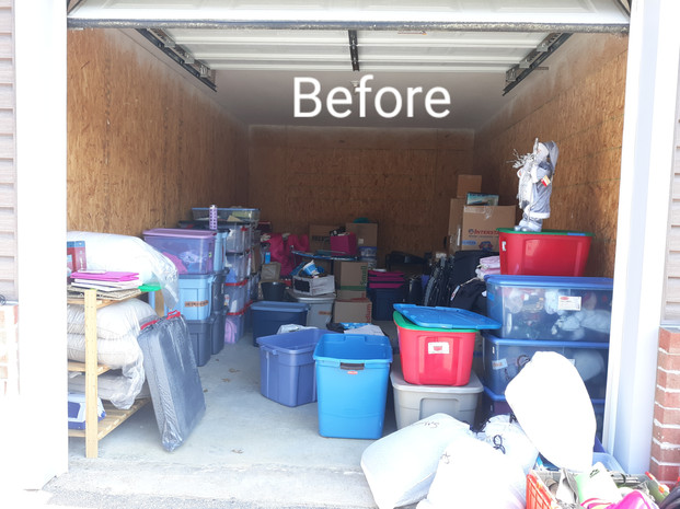 Storage Unit Declutter