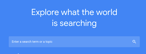 google-trends-search-bar