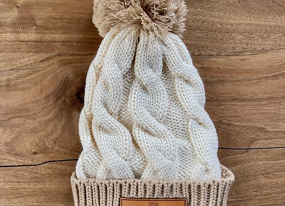 Pompom Knit Toque