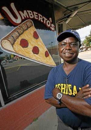 Owner of Umbertos Moses Okoro