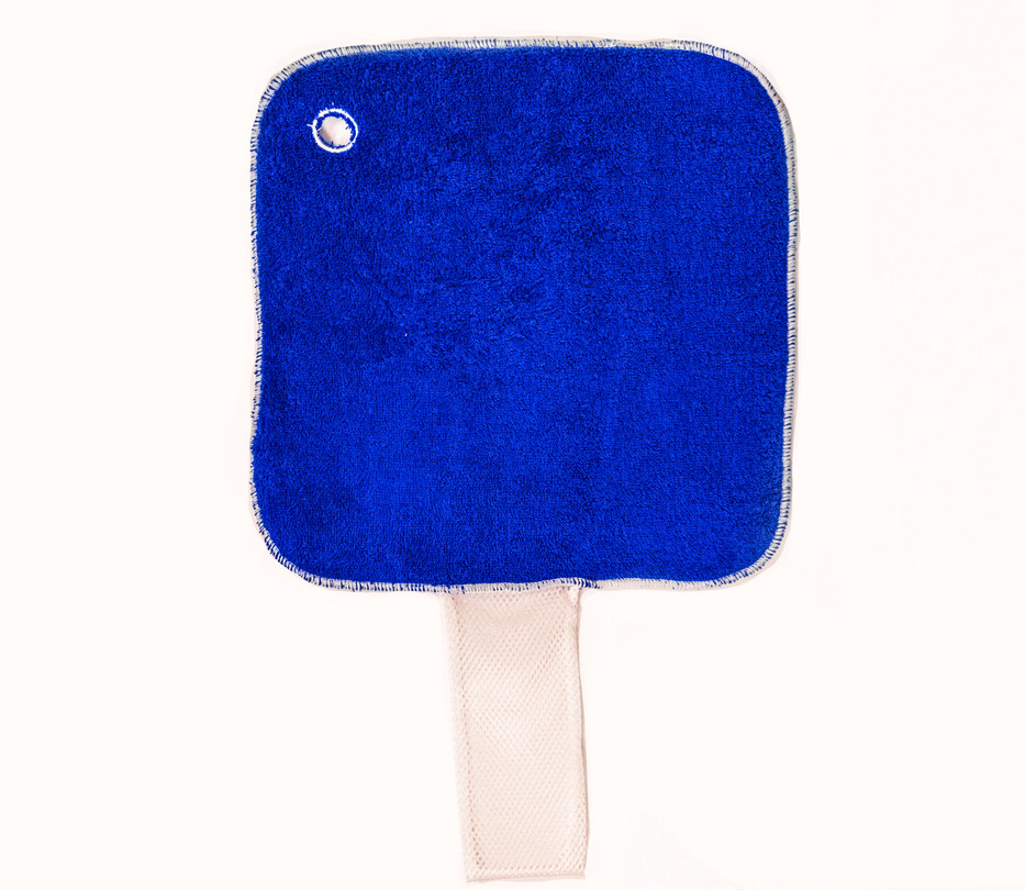Mesh Pocket Blue