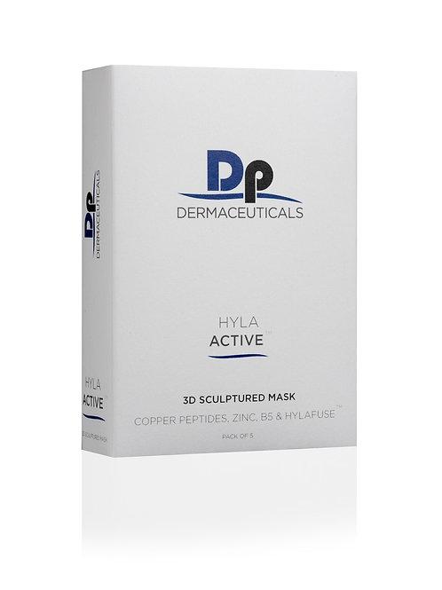 DP Dermaceuticals - HYLA ACTIVE 3D SCULPTURED MASK (5 PACK)