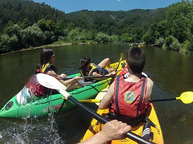 Kayaking trips in Portugal - Mondego river