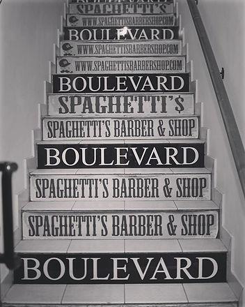 #barbershop  #ladispoli #steps #stairs #spaghetti #boulevard #spaghettibarbershop