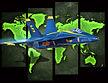 Blue Angel & Map by pmo2.jpg