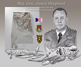 Maj. Gen. James Shepherd sketcy by pmo 8