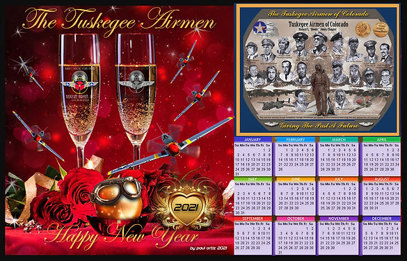 Happy New Year Calendar 2021 by pmo TAI