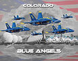 Colorado Blue Angels hand drawn by Paul