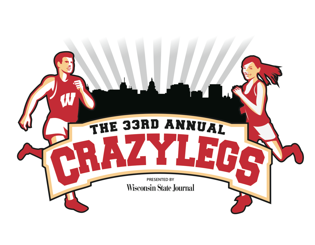 Crazylegs T-shirt Design