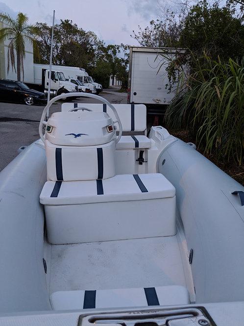 Nautica 13.5 wide-body upholstery set.