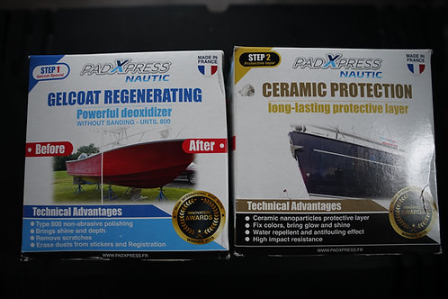 PadXpress Gelcoat and Ceramic Combo Pack