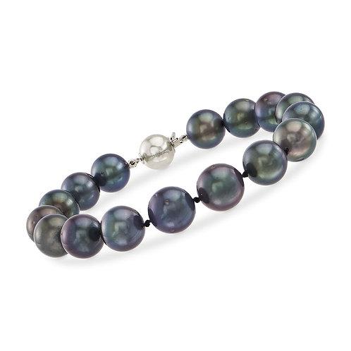 Bracelet perles de Tahiti (9-10 mm)