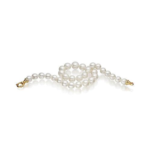 Collier de perles d'Australie blanches (10-12 mm)