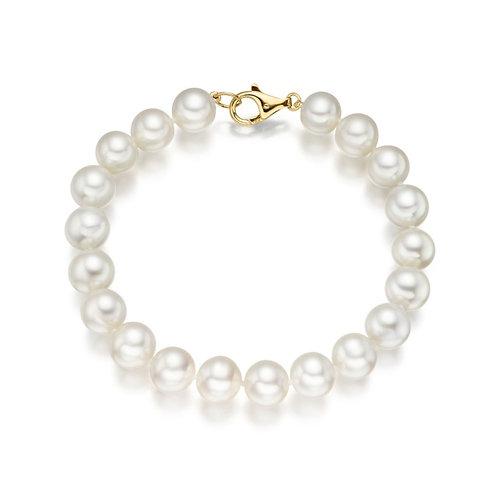 Bracelet perles d'eau douce (7-8 mm)