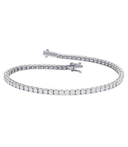 Bracelet Rivière de Diamants - Or 18k