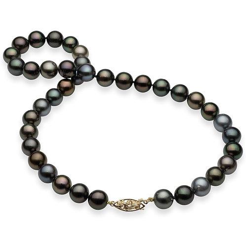 Collier de perles d'eau douce multi-color (8-9 mm)