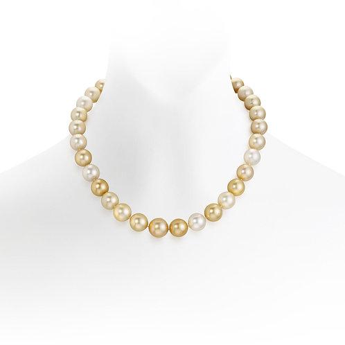 Collier de perles d'Australie (9-12 mm)