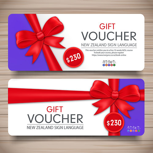 Merge NZ Gift Vouchers