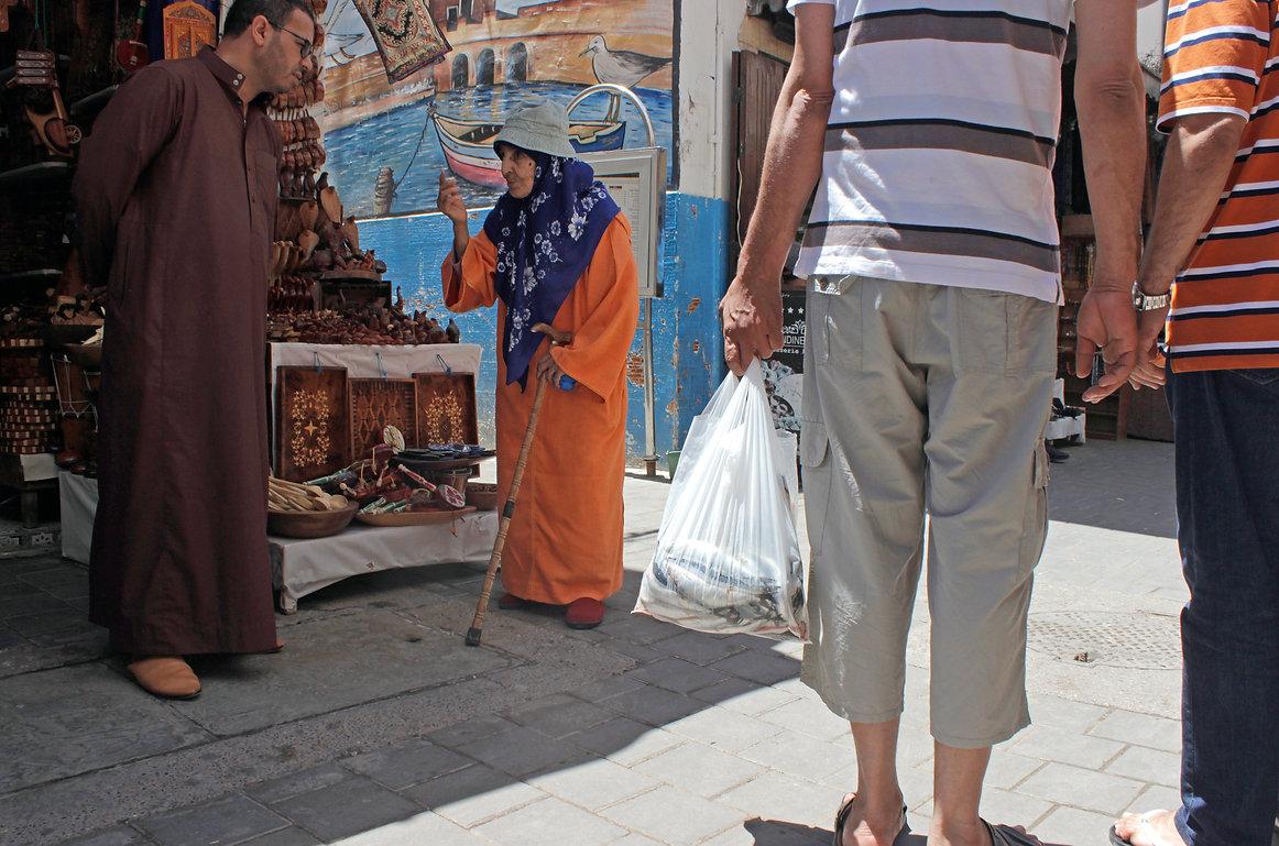 morocco, essaouira, market, medina, seafood