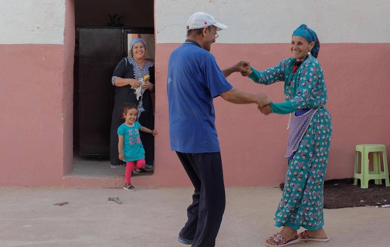 morocco, dance, berber, amazigh, village