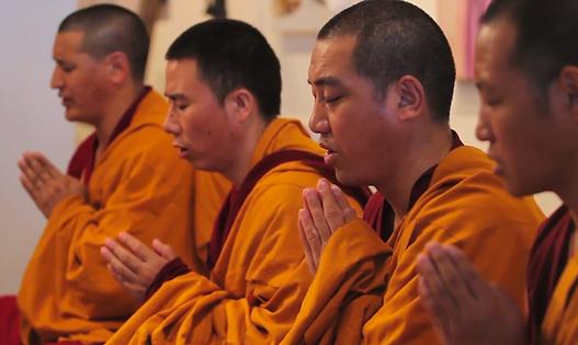 Tibetan monks, Wesley Broome, documentary