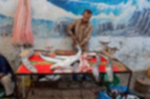 morocco, seafood, market, essaouira