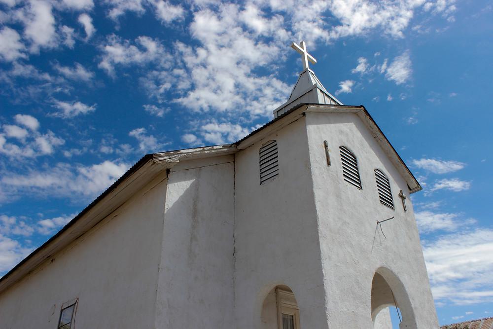new mexico, church, ghost town, georgia o'keeffe