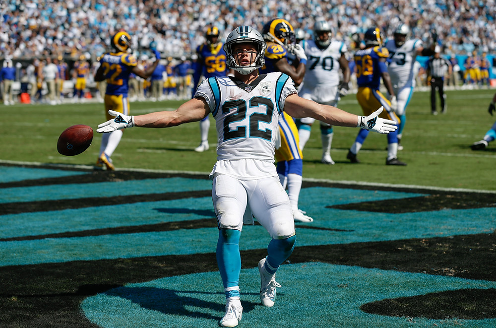 panthers, Christian McCaffrey, football, NFL