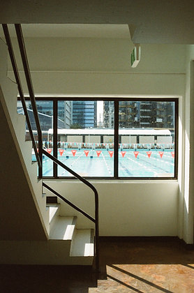 fortitude valley pools baby - a3 print