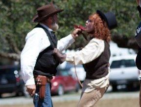 Bumbling Cowboys Rehearsal