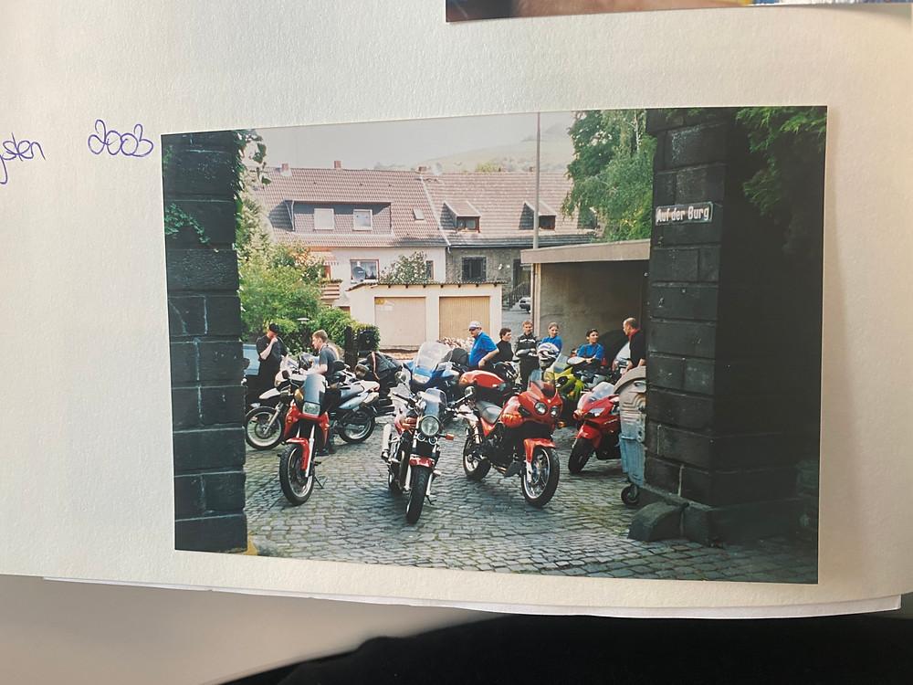 Motorrad-Freunde Pfingsten 2003