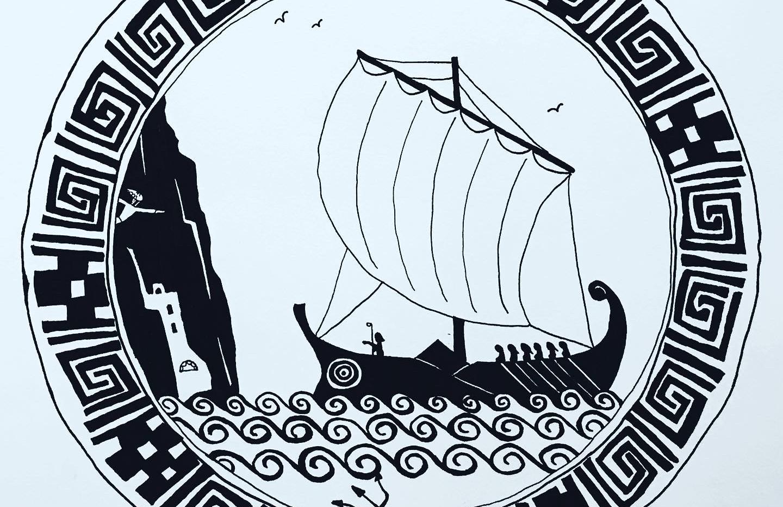 Team Savres Sails to Amorgos