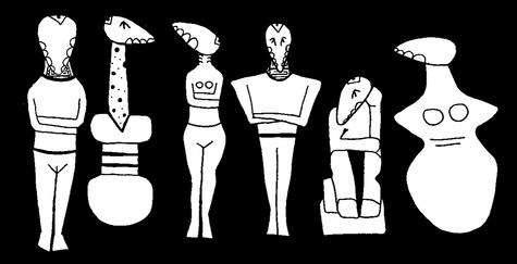 Savra Cycladic Figures