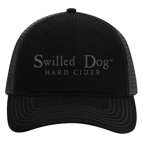 Swilled Dog Hat - Black
