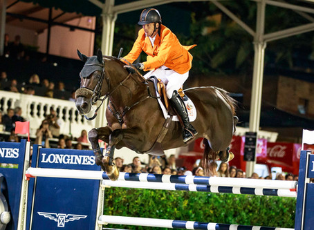 The Flying Dutchman: Harrie Smolders Longines world number one