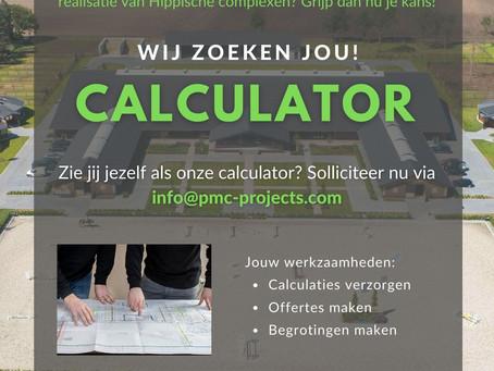 Vacature Calculator (fulltime | 40 uur)