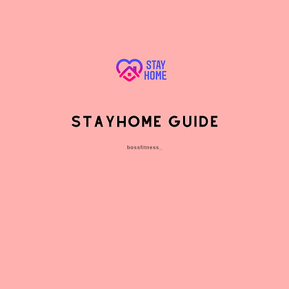 STAYHOME Guide