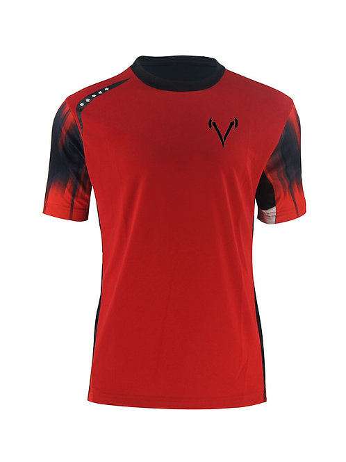 Vandal 5 Star two-tone hyper Dri-Fit tee