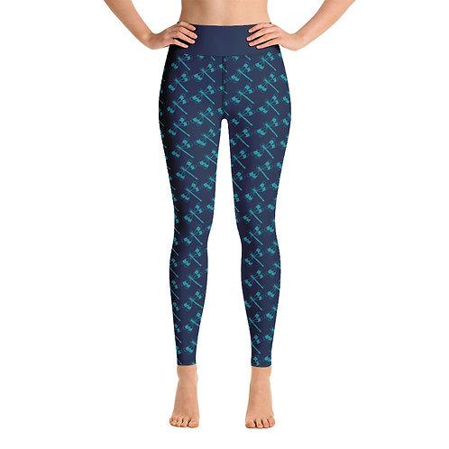 Vandal Pattern Yoga Leggings