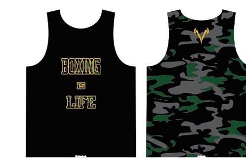 """Boxing is Life"" Dri-Fit Training Tank Top"