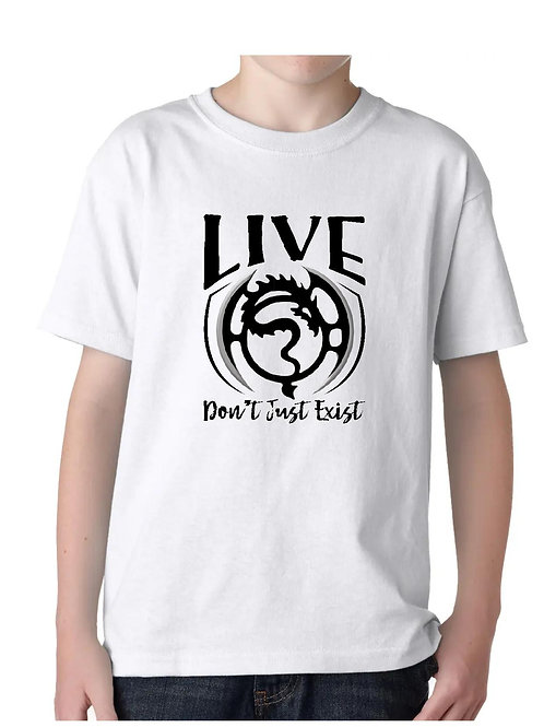 Live Don't Just Exist-Youth Tee