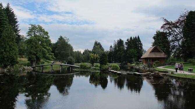 Sha Raku En The Japanese Garden at Cowden