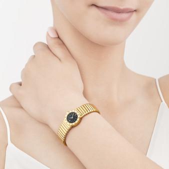Fotografia de Produto - Joalharia - relógio Bvlgari em modelo