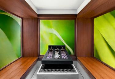 Fotografia de Interiores - Banho turco em hotel no Douro
